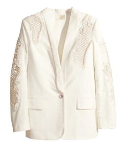 untitled hvid blazer
